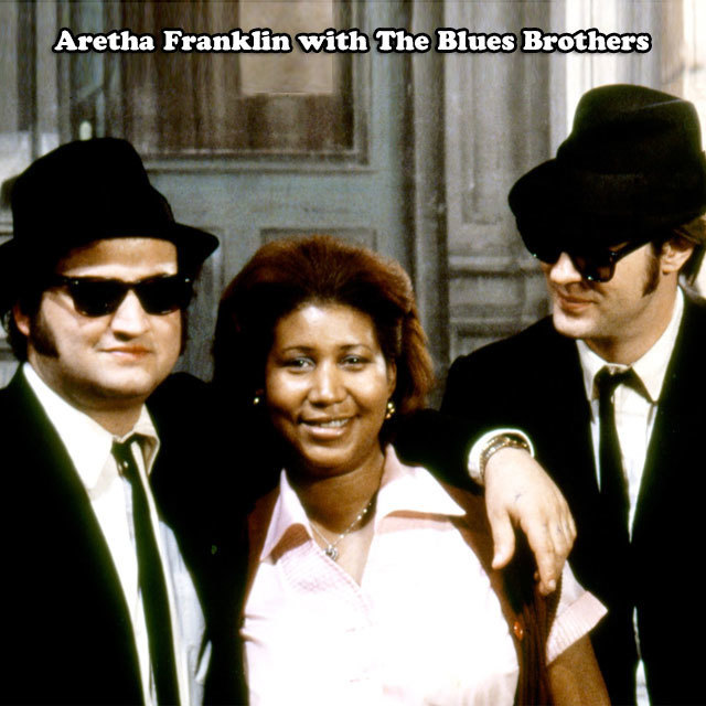 ARETHA FRANKLIN & THE BLUES BROTHERS BAND Think