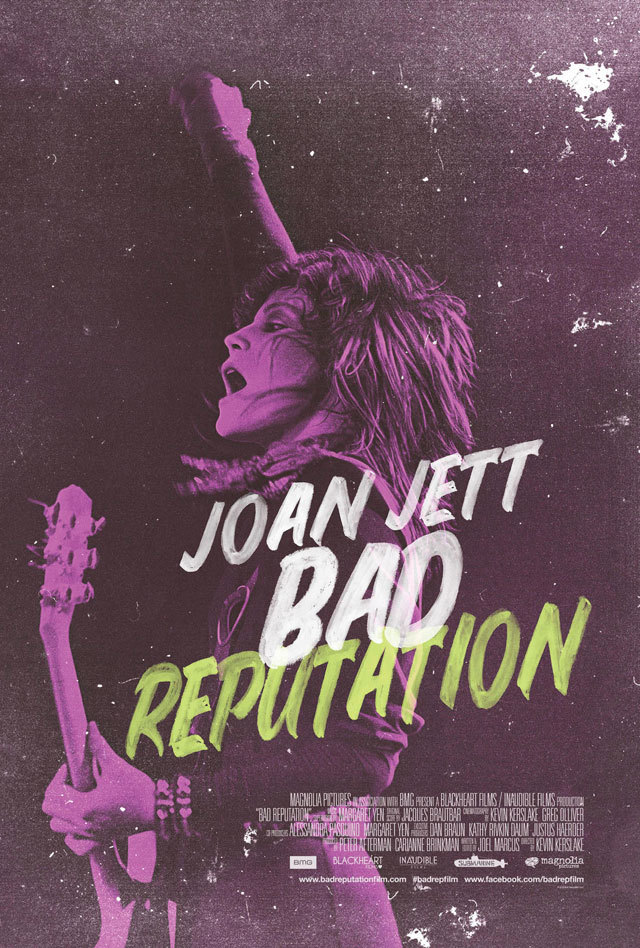 Documentary about rock star Joan Jett.