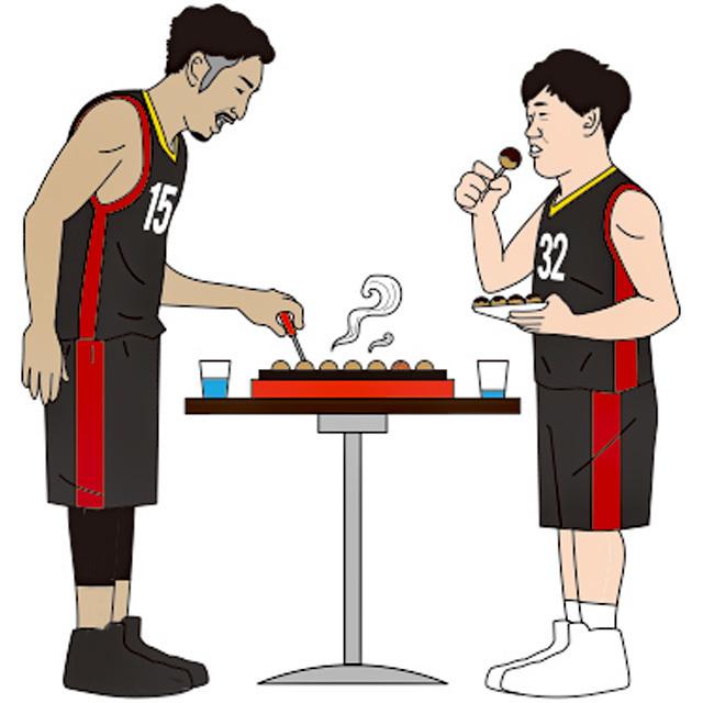 【ご報告】8/05(日)「みんな集まれ!選手と一緒にたこ焼きパーティーナイト☆」が実施されました