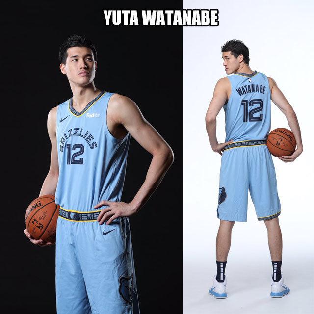 NBA メンフィス グリズリーズ #12 渡邊雄太選手