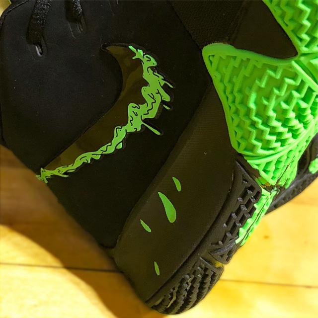 photo by NecoTez (Team Zion) Nike Kyrie 4 Halloween
