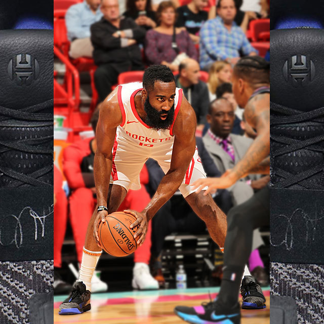 NBA Houston Rockets Basketball Shoes Sneaker Kicks adidas James Harden Vol.3