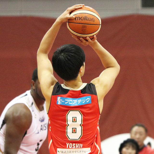 B.League Osaka Evessa #8 Hirotaka Yoshii