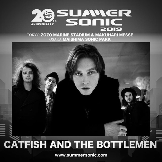 CATFISH AND THE BOTTLEMEN SUMMER SONIC 2019