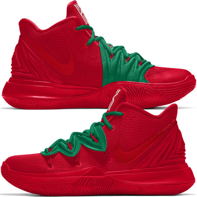 NIKE iD Nike By You Kyrie 5 aka Tomato