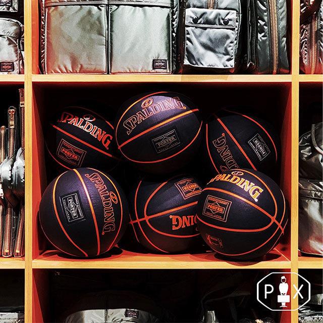 SPALDING × PORTER コラボレーションボール 渋谷PARCO「PORTER EXCHANGE」にて11月22日発売