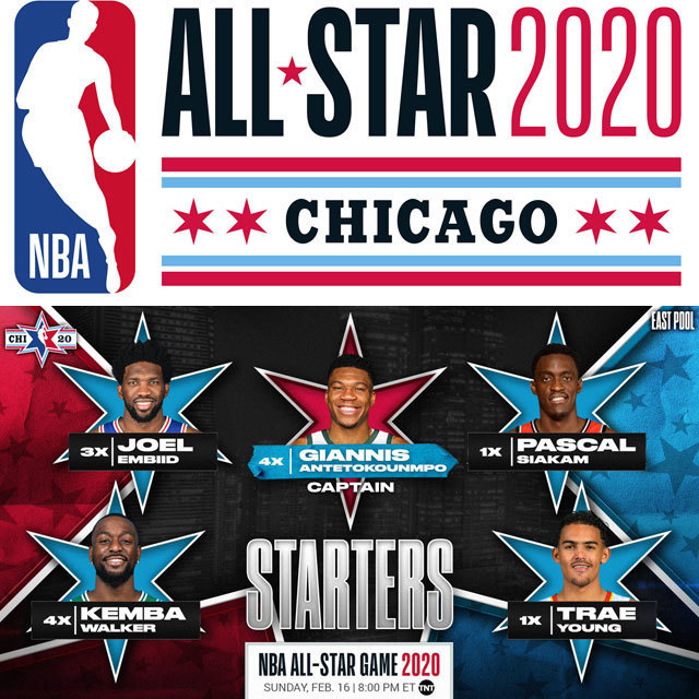 NBA ALL-STAR 2020 STARTER