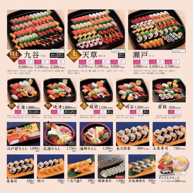 活魚廻転寿司 にぎり長次郎