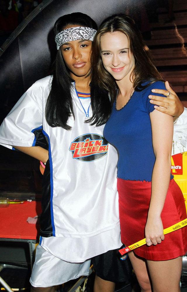 Aaliyah and Jennifer Love Hewitt