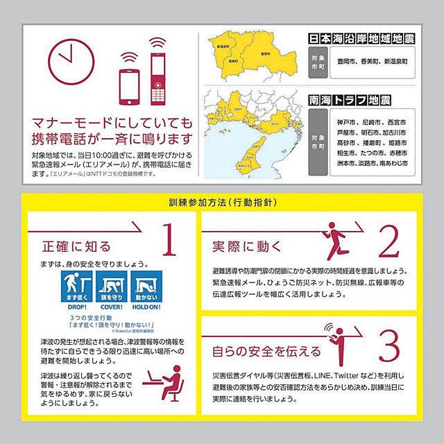令和2年度兵庫県津波一斉避難訓練実施について (南海トラフ地震・日本海沿岸地域地震)