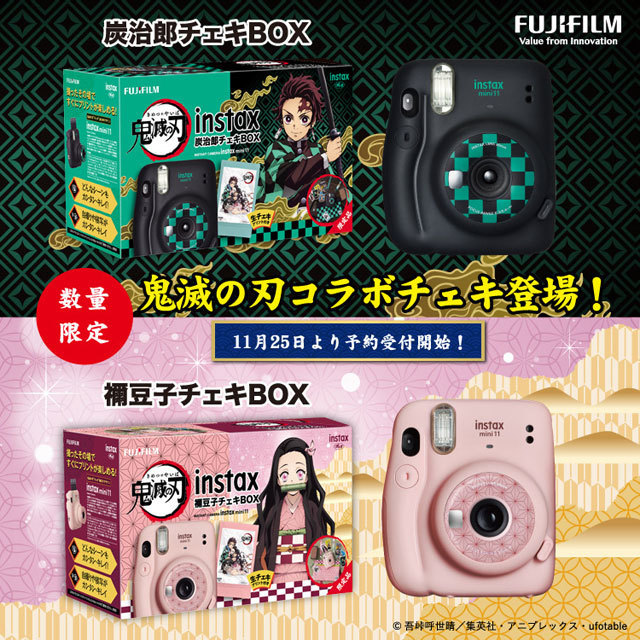 fujifilm instax チェキ