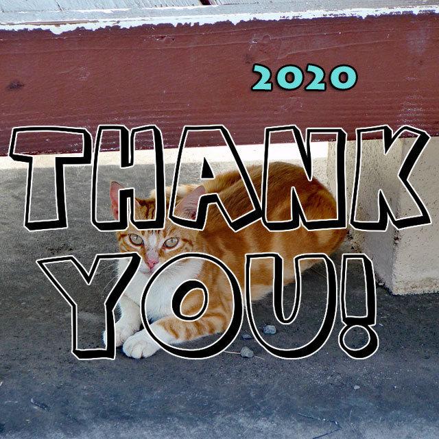 Thank You 2020 Cafe de Zion online shop by TEAM ZiON