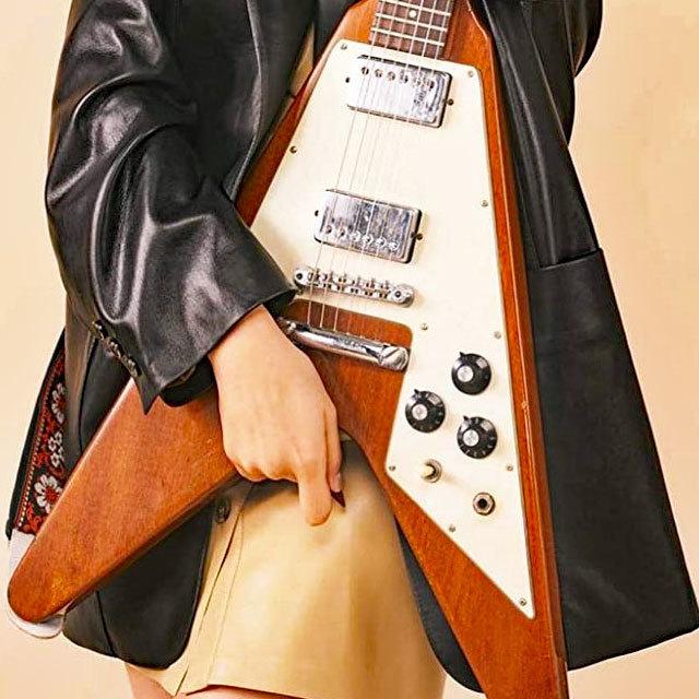 ギター・マガジン・レイドバック 池田エライザ