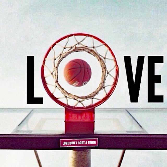 basketball hoop love