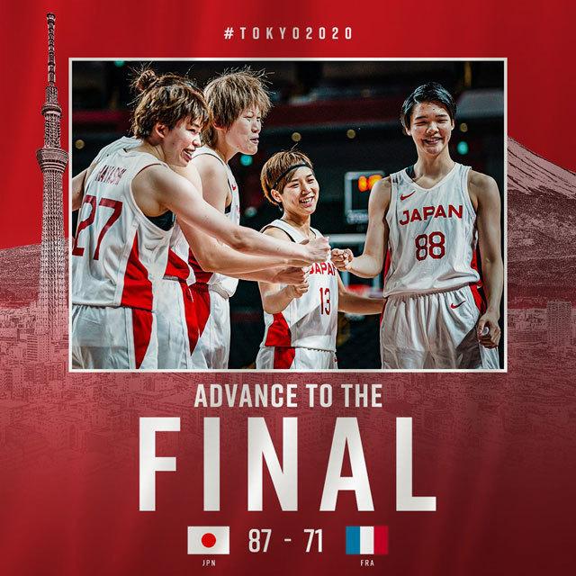 バスケットボール日本代表 @JAPAN_JBA
